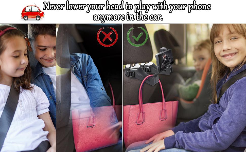 bag hooks for car