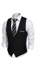 Mens Casual Suit Vests