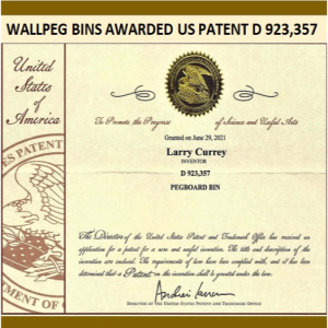 Wallpeg Patents - Made in The USA