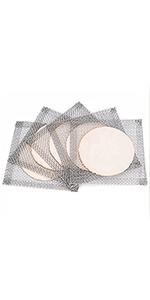 Wire Gauze with Ceramic Center