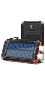 solar power charger for camping
