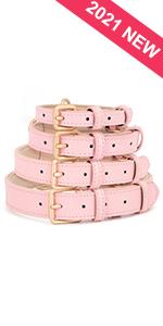 Cute Leather Dog Collar