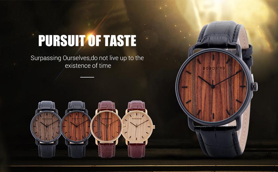BOBO BIRD GT058 wooden watch