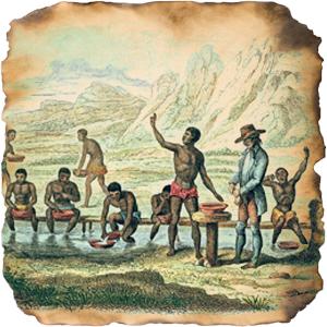 Lavagem de diamantes: o trabalho escravo sustentava a riqueza e a prosperidade do reino