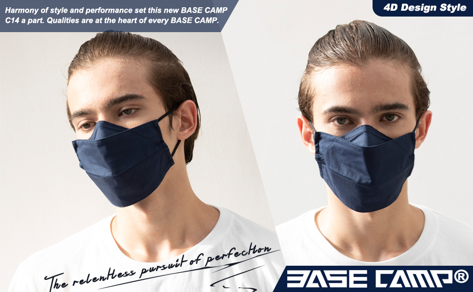 BASE CAMP Reusable Cloth Face mask