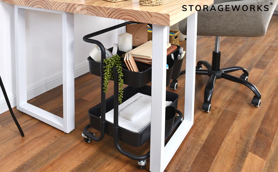 StorageWorks storage utility cart