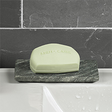 Dove Men+Care Body and Face Bar Soap Extra Fresh is formulated for men and easy to use.