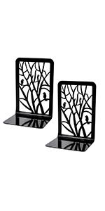 Tree and Bird Bookends