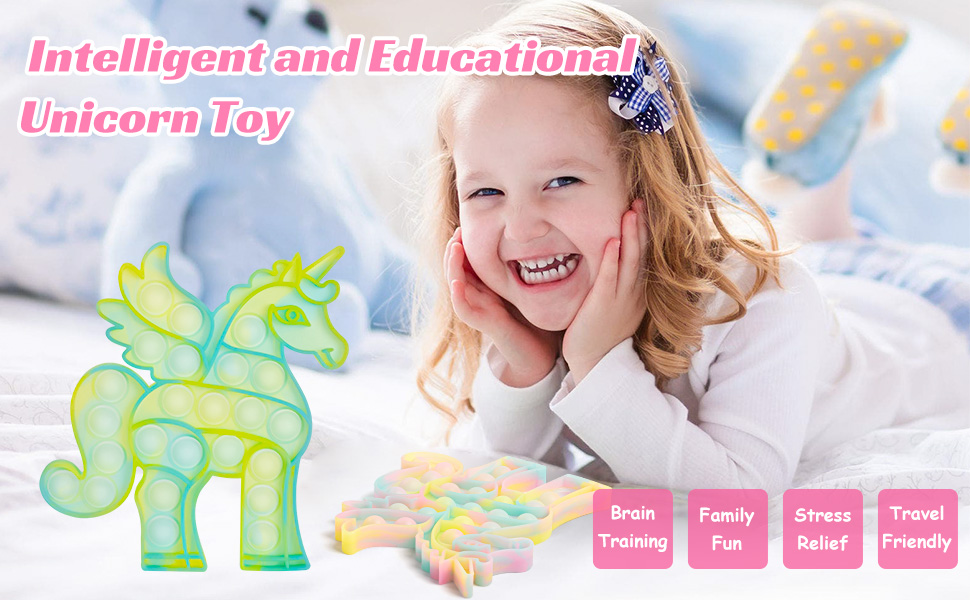 intelligent and educational unicorn toy