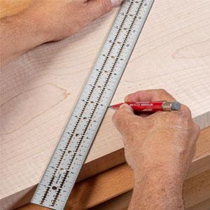 Carpenter's Edge Ruler