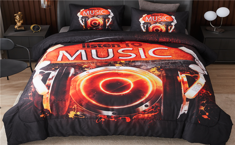 Gamer Comforter Set