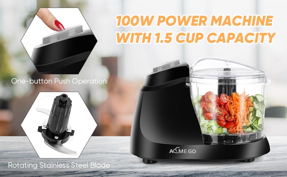 100W Power Machine 1.5 cup capacity