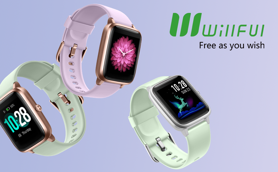 Willful Smart Watch for Android Phones and iOS Phones Compatible iPhone Samsung