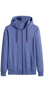 Mens Comfort Terry Hooded Sweatshirt