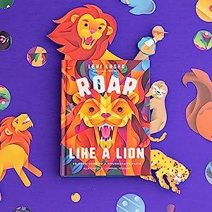 Roar like a lion get courageous
