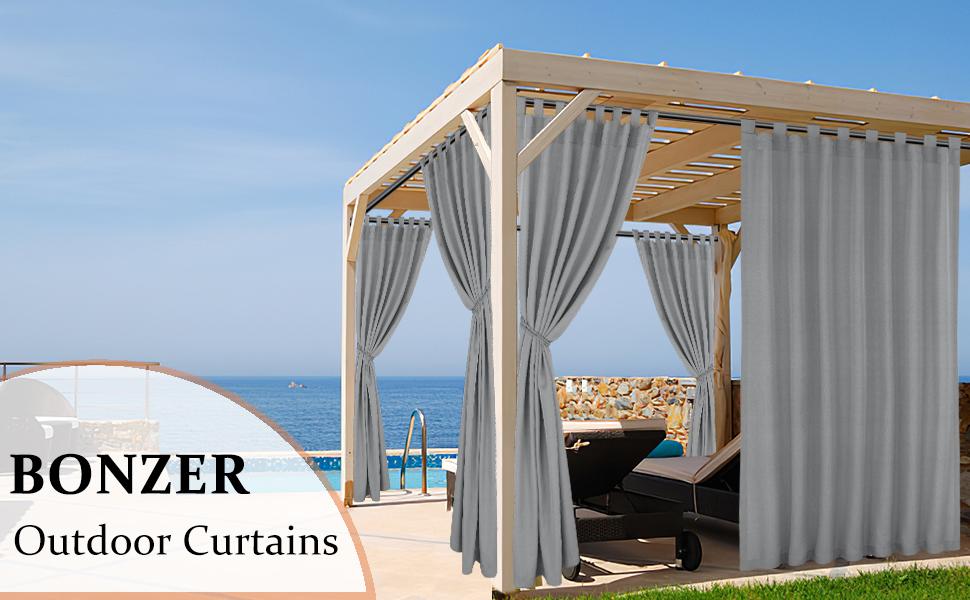 bonzer outdoor curtains