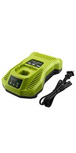 Dual Chemistry Battery Charger P117 P118 Compatible with Ryobi 18V 12V Lithium NiCd NiMh Battery