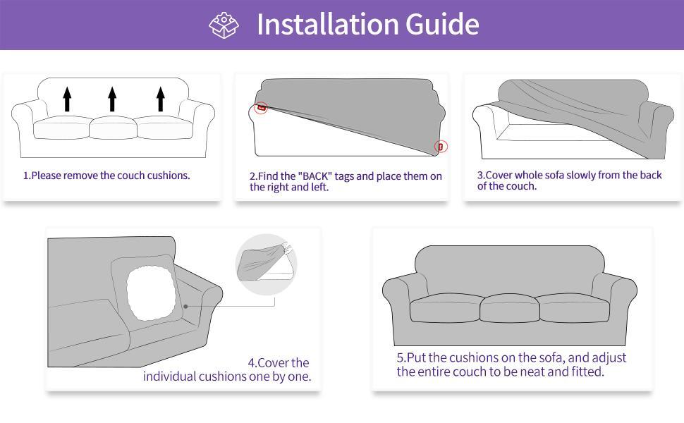 stretchy sofa cover