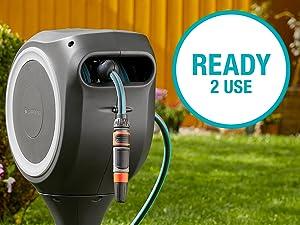 Wandslangenboxen, Gardena, oproltechnologie, tuin, RollControl, eco Pulse, ready2use