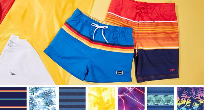 Speedo Men's Swim Trunks Patterns