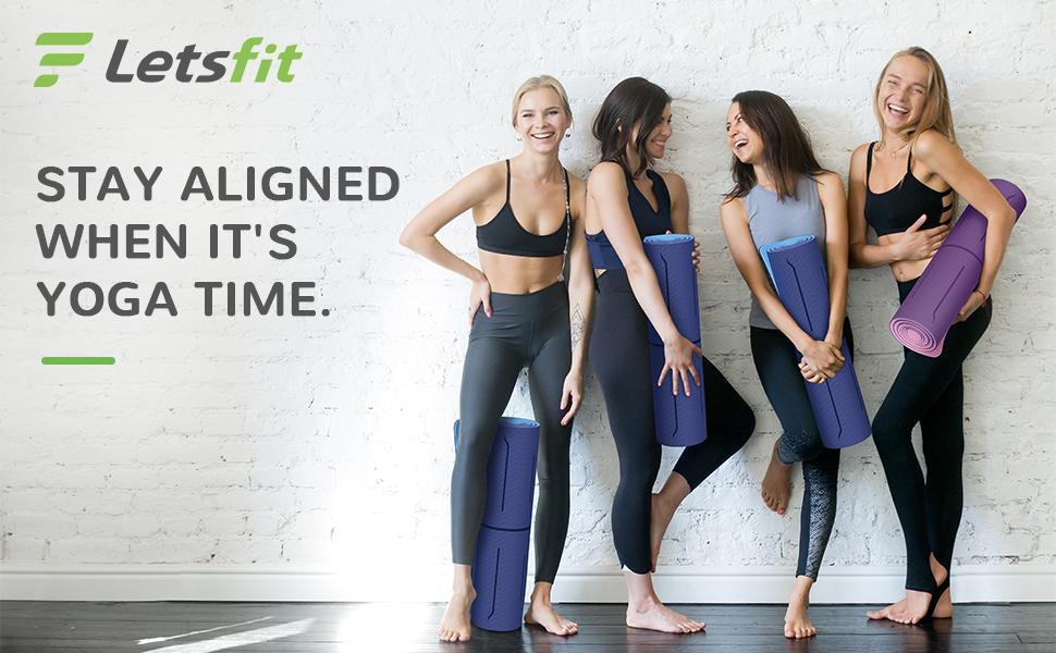 Letsfit yoga mat