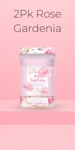 Beauty Concepts - 2 Pack of Rose Gardenia Wipes