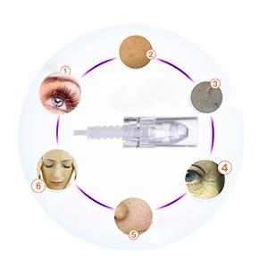 micro needling dermapen microneedle microneedling derma  pen professional machine cartridge tool
