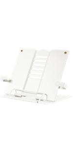 white book holder