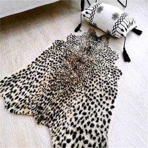 The modern faux hide rug