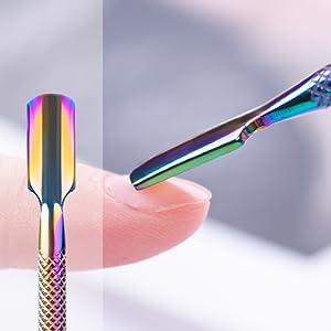 Flat-shaped Cuticle Pusher