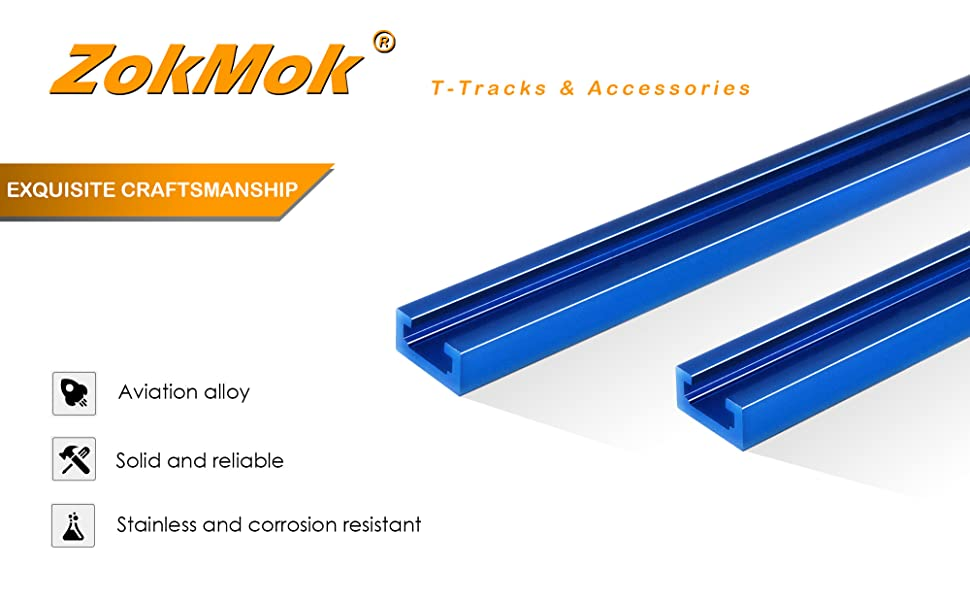 ZokMok T Track amp;amp; Woodworking Accessories