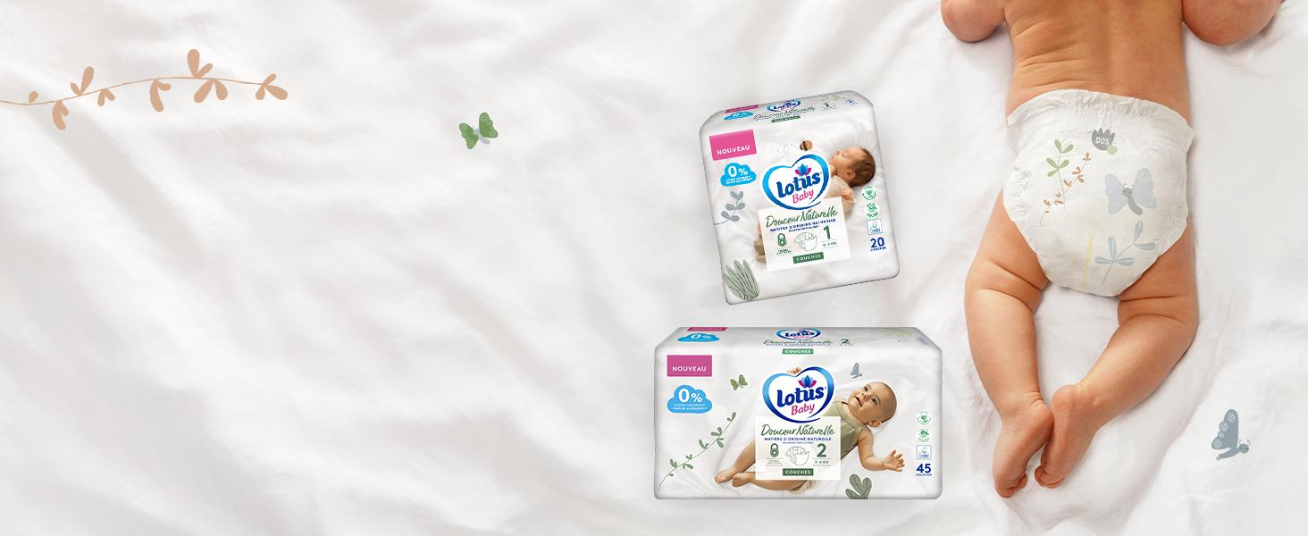 Couches nouveau-nés Lotus Baby