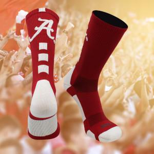 Alabama Roll Tide Socks