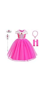 Aurora dress for girls