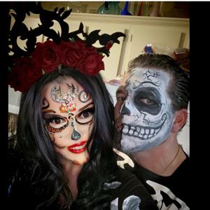 Halloween flower fasciantors headband  for costumes hair accessories