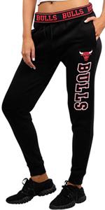 Ultra Game NBA Women's Jogger Pants Active Basic Fleece Sweatpants, Dark