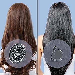 簡単なスタイリングヘアスタイル