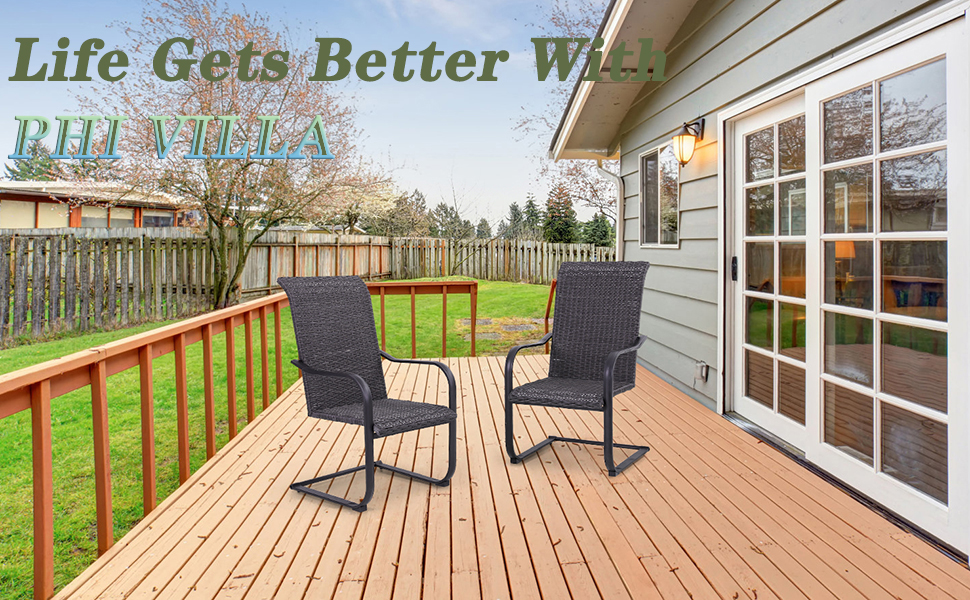 Rattan C Spring chair that is cooler than ordinary chairs and more suitable for summer