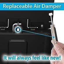 Replaceable Air Damper