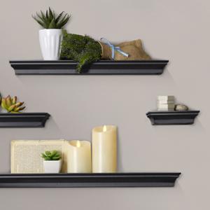 melannco traditional floating shelf shelvesMelannco chunky shelves