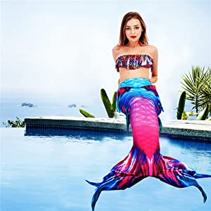 Rose mermaid tail