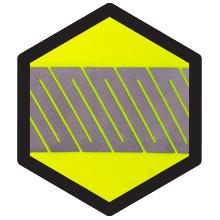 2 inch stretchable, reflective tape