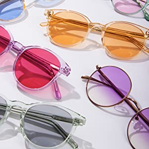 Sunglasses Colors colorful plastic sunglasses womens fashion sunglasses cute sunglasses for teens