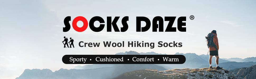 wool hiking logo