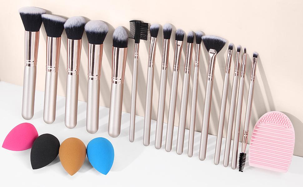 travel brush set for women makeup brushes & tools makeup brush kit womens makeup make-up brushes