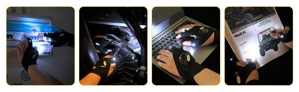 kemimoto led flaslight gloves