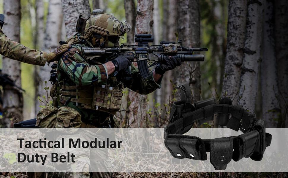 Tactical Modular Duty Belt