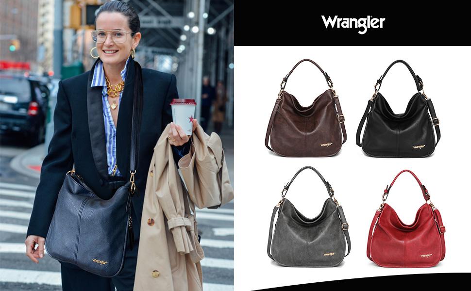 Leather Hobo Handbag for Women