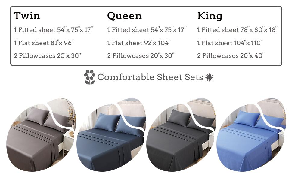 bed sheets sets