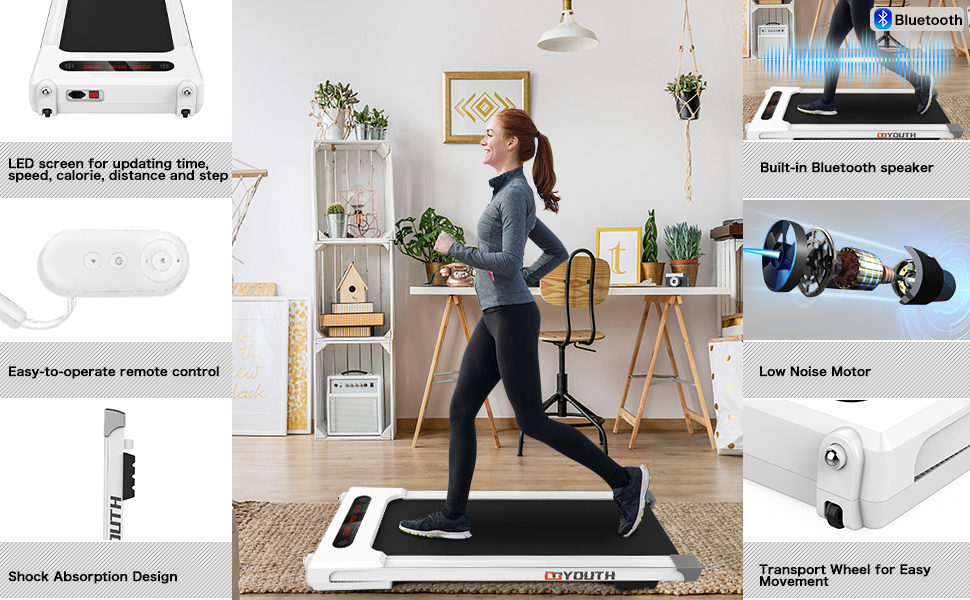 Introduction to each part of the treadmill
